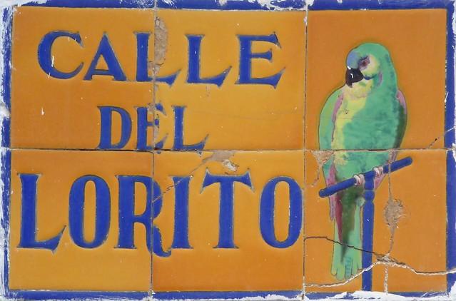 Tarifa- Cádiz / Spain - Spanish street tiles