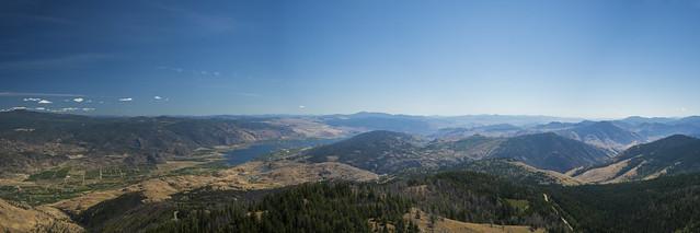 Okanagan Valley - View from Mount Kobau