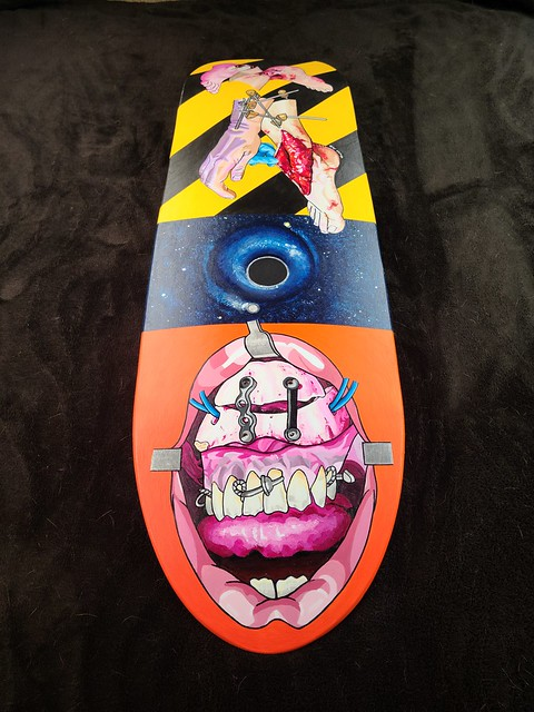 Skateboard Deck Commission c
