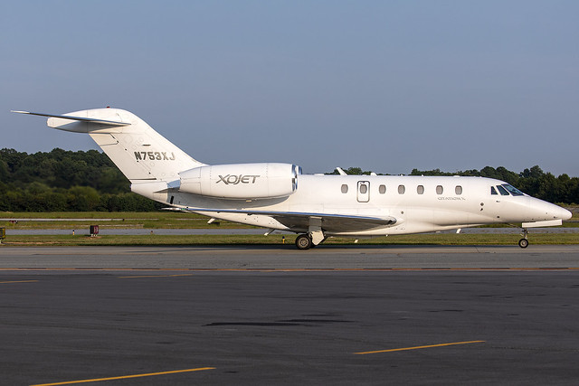 N753XJ - Cessna 750 Citation X - XOJET -  KPDK - Sept 2020