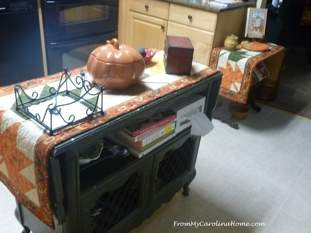 Autumn Decorating at FromMyCarolinaHome.com