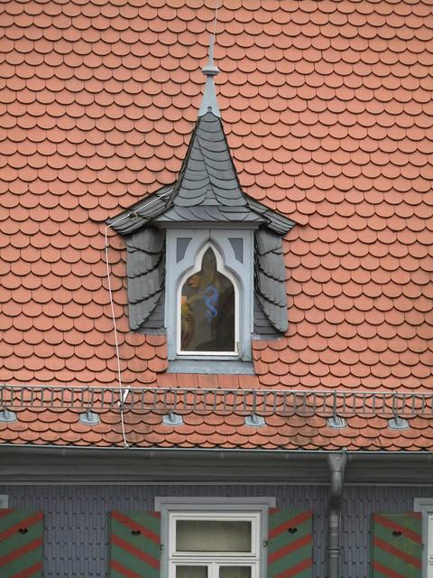 Häuschengaube auf dem Drachenmuseum