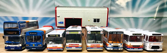 Stagecoach 40th anniversary - 1/76 scale model shoot.