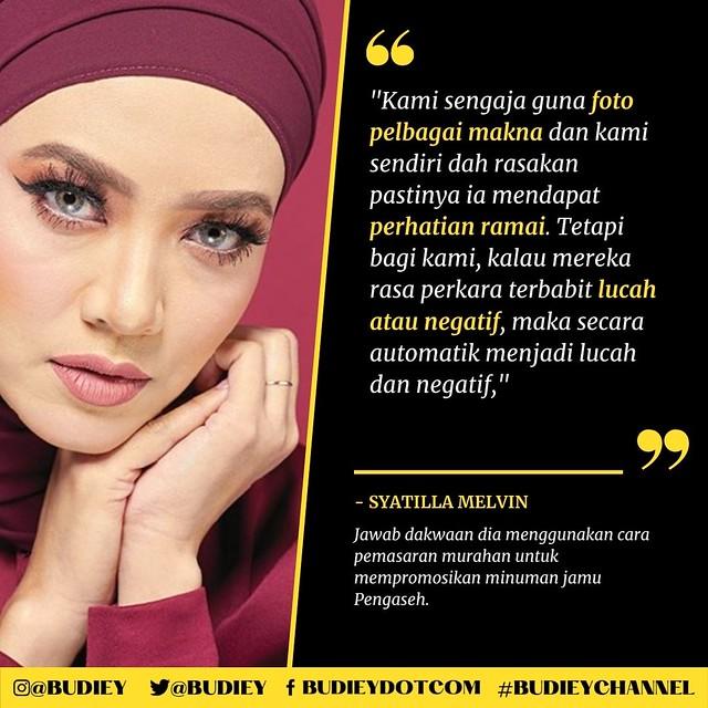 Syatilla Melvin Jawab Isu Guna Foto Berunsur Lucah Untuk Jual Produk