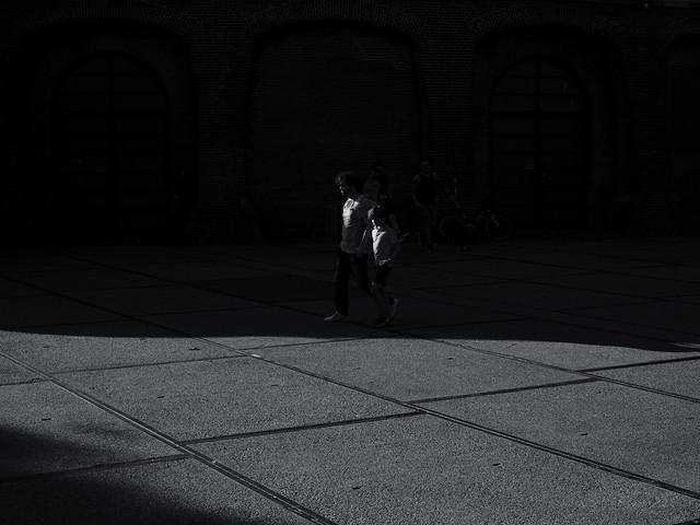 Walking in Monochrome