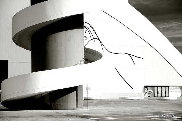 La chica del Niemeyer