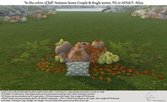 """.:Tm:.Creation """"In the colors of fall"""" Autumn Scene with anims AG22"""