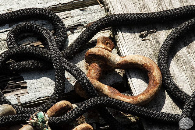 Ropes and Shackles, Astoria, Oregon