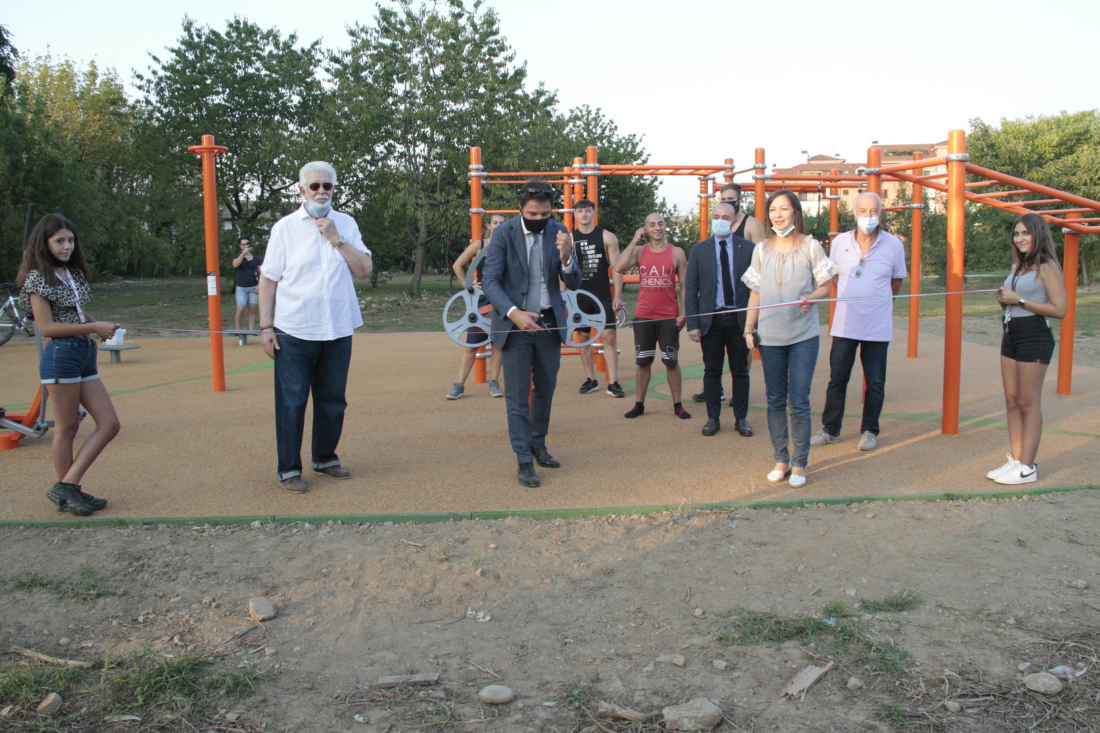 PumTrack e Area Fitness inclusiva, nuovi spazi di aggregazione per San Giuliano Milanese