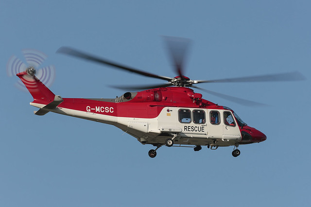 Agusta Westland AW139 G-MCSC Babcock Mission Critical Services Offshore