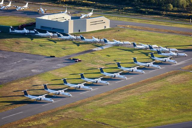 Grounded Porter Fleet