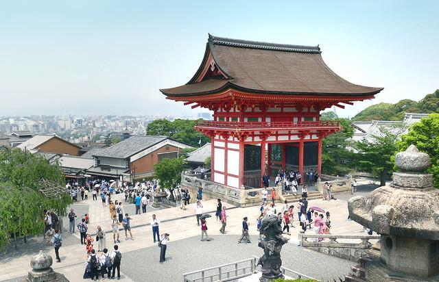 Kiyomizu-dera Temple.Kyoto. Japan