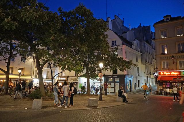 Place de la Contrescarpe - Paris (France)