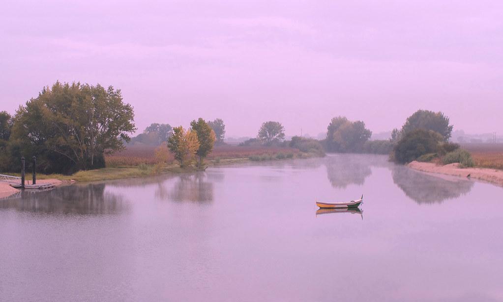 The light of Sorraia River...