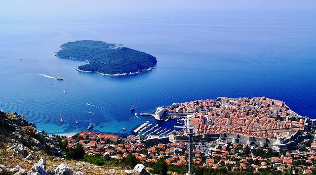 Panoramic view of Dubrovnik