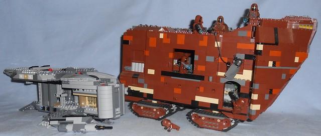 Lego - Jawas Scavenge Razor Crest