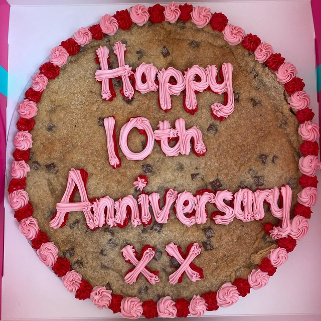 10 years deserves a big cookie. 🍪