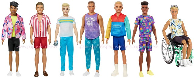 New Fashionista Kens (Photos Property of  Mattel & PapusileMele.com)