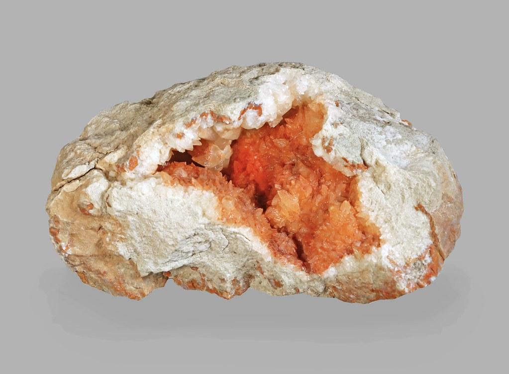 Calcite in a Geode