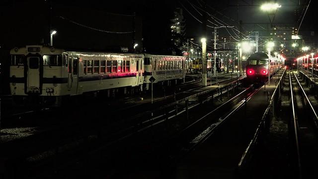 Takeshita railway depot