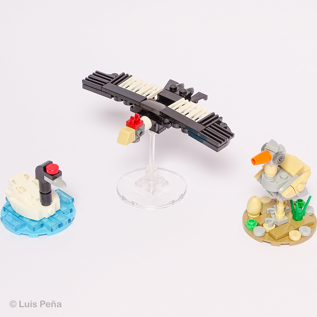 South American birds in LEGO (with instructions)