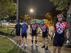 Night ride 18 Sep
