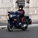 Carabinieri BMW R1100-RTP Roma centro (Italian military police motorcycle in the city center of Rome)
