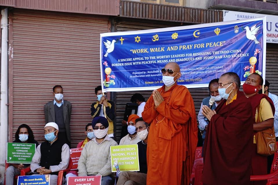 Buddhis Ladakh Serukan Perdamaian di Perbatasan India-Tiongkok