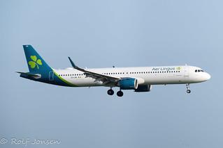 EI-LRA Airbus A321NEO Aer Lingus Heathrow Airport EGLL 17.09-20