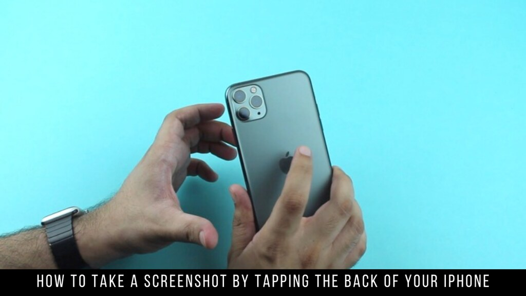 How to Take a Screenshot by Tapping the Back of Your iPhone
