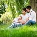 Babybauchfotoshooting am Rande der Schwalm