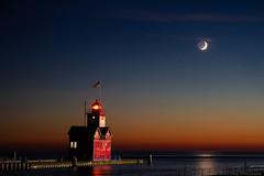 Evening Lunar Earthshine by Kevin's Stuff