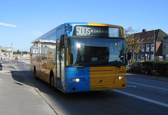 City-Trafik (2540), Volvo B12BLE-59 / Aabenraa 8500LE, year 2003