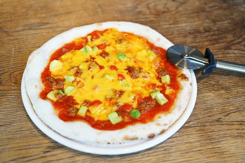 ピリ辛挽肉とアボカドのメキシカン