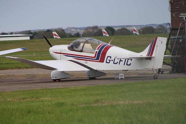 G-CFIC at St Athan 20/09/20