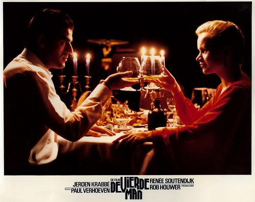 Jeroen Krabbé and Renee Soutendijk in De vierde man (1983)