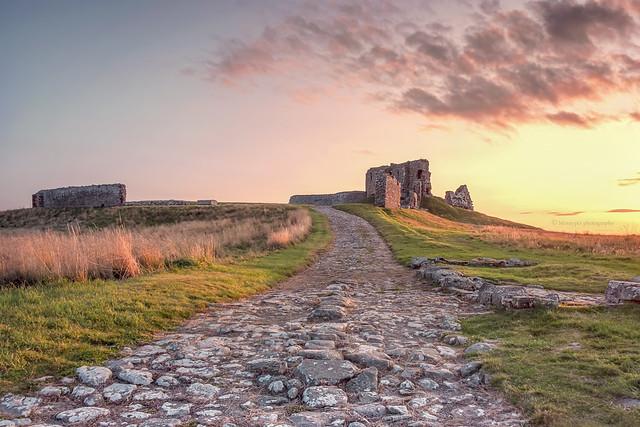 Duffus Castle...