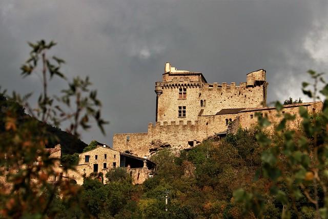Le château de Dio (34 France)