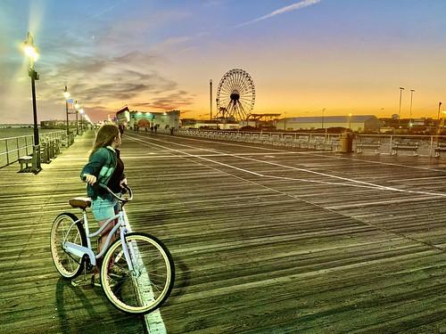 sunset summer2020 ocnj oceancitynewjersey oceancityboardwalk