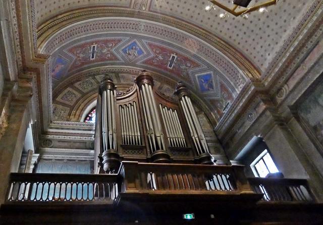 Orgue Daublaine-Callinet, Eglise collégiale Saint-Martin.. L'Isle-Jourdain.