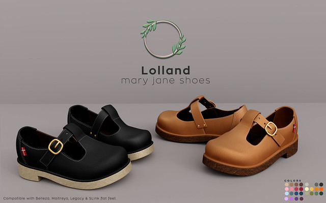 Ohemo - Lolland maryjane shoes. ad