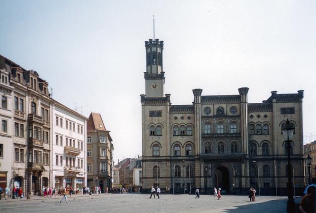 Zittau - Rathaus am Platz der Jugend (Markt)