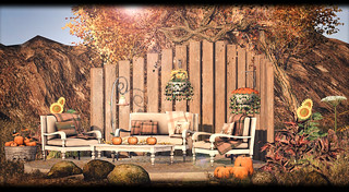 Dreamland Designs - DD Woodland Autumn Complete Outdoor Scene | by Elaine Lectar