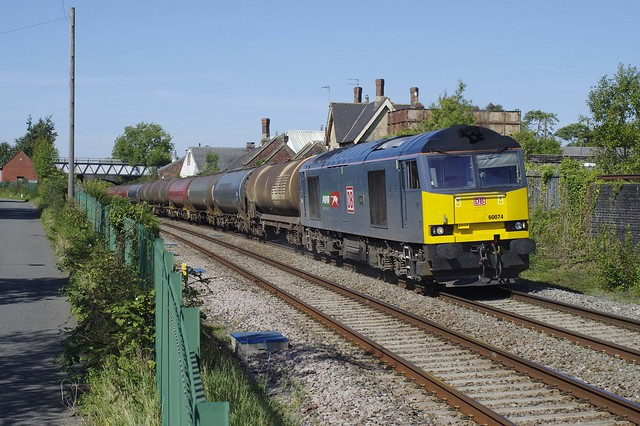3PENK32406 60074 Luke with the 6B13 running in the later path powers through Charfield 14th Sep 2020 time 13:30