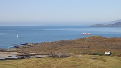 A distant view of Canna from Sanna