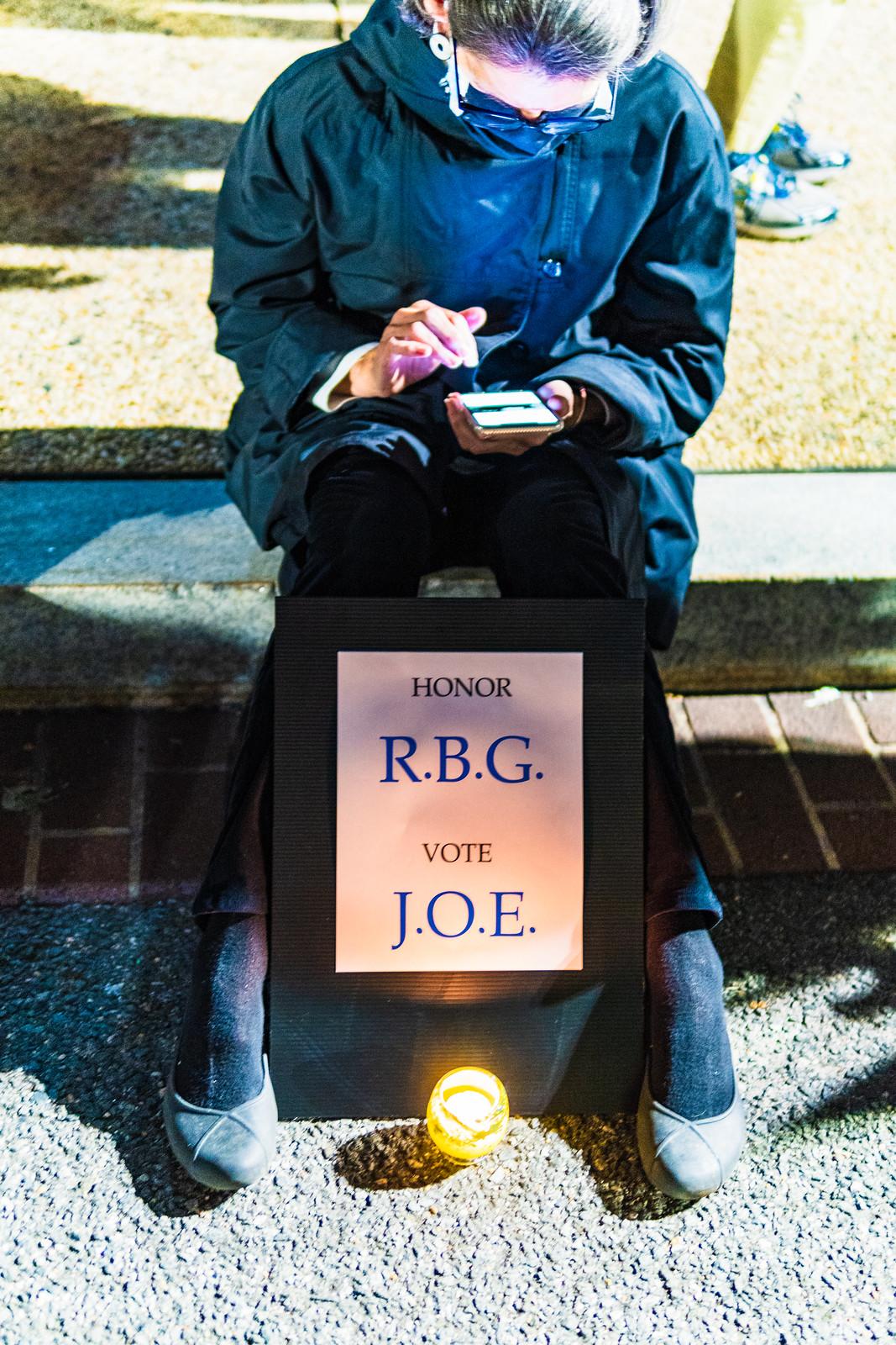 2020.09.19 Vigil for Ruth Bader Ginsburg, Washington, DC USA 263 96240