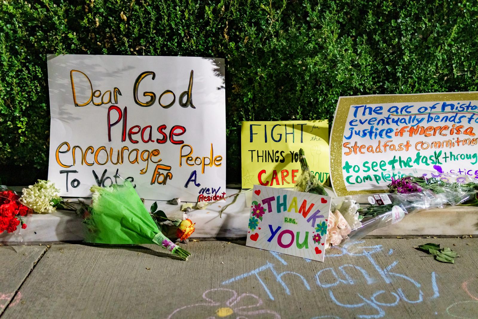 2020.09.19 Vigil for Ruth Bader Ginsburg, Washington, DC USA 263 96247