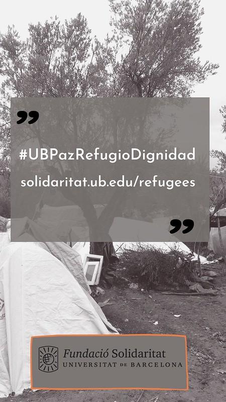 #UBPazRefugioDignidad