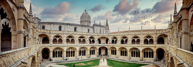 Cloisters of the Jerónimos Monastery - REDUX