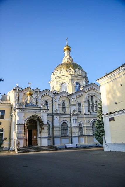 19 сентября 2020, Митрополит Кирилл совершил всенощное бдение в Андреевском соборе